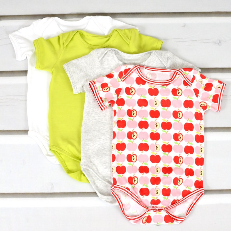 Bodysuit sewing pattern pdf // long and short sleeve // sizes image 4