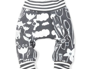 Big butt pants sewing pattern // pdf download // preemie- 6T // photo tutorial // #11
