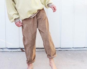 vintage style pants sewing pattern pdf download, size 6-14 years, K014