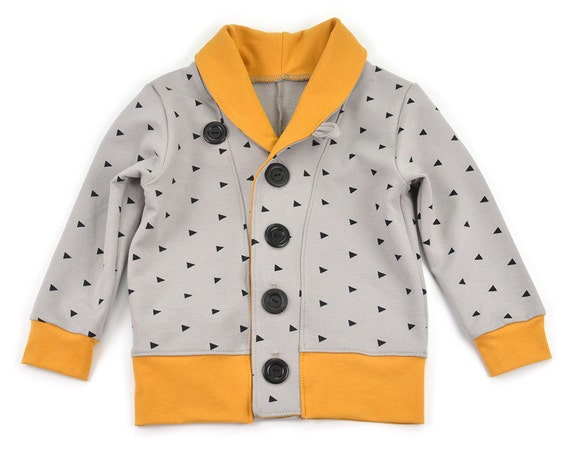 Kids Cardigan Sewing Pattern Pdf Download 0 3m To 5 6t Etsy