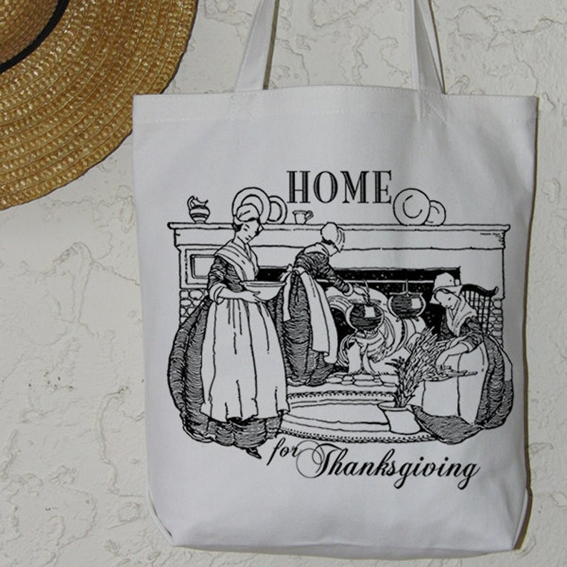 Digital Collage Sheet Download Burlap Fabric Transfer HOME for THANKSGIVING Text Iron On Pillows Totes Tea Towels No 3060