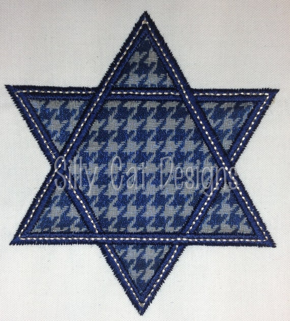 Star of David Applique Design