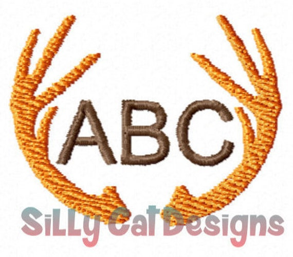 Antlers Machine Embroidery Design