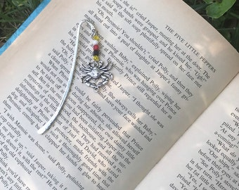 Maryland crab charm bookmark/ pewter crab charm bookmark / Maryland gifts for readers