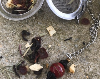 Tea infuser/ black and red tea infuser/ tea strainer / loose leaf tea strainer/ loose leaf tea infuser