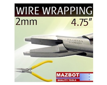 Mazbot Pro 2MM Wire WRAPPING Pliers Beading Jewelry Making Tool Stainless MWP20