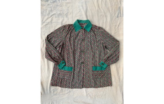 Vintage 1930's 1940's Holly Smock Button Up, Women