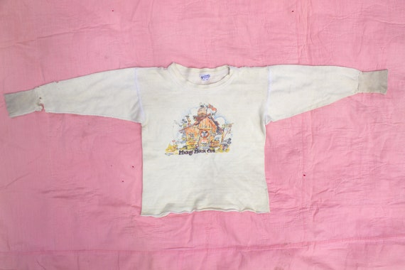 d9d7a9bfa Vintage 1950 s Mickey Mouse Club Distressed Long Sleeve