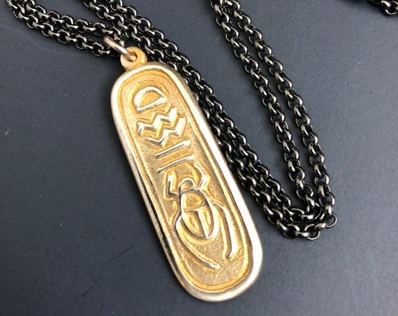 Egyptian Hieroglyphic pendant