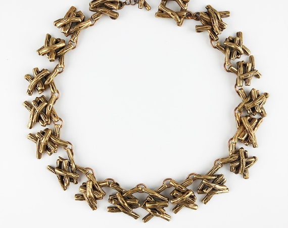 Twig Collar Necklace