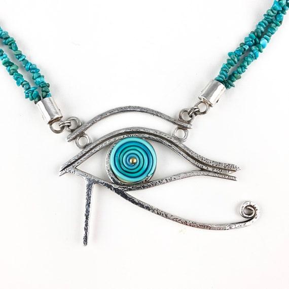 Eye of Horus Pendant Necklace