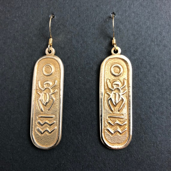 Egyptian Hieroglyphic earrings