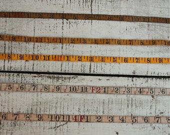 Pack of 4 60 Inch Helping Hand Vinyl Tape Measure