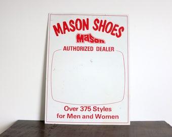 Retro Shoe Sign