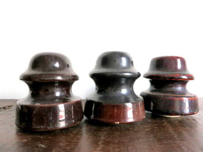 Antique Ceramic Insulators