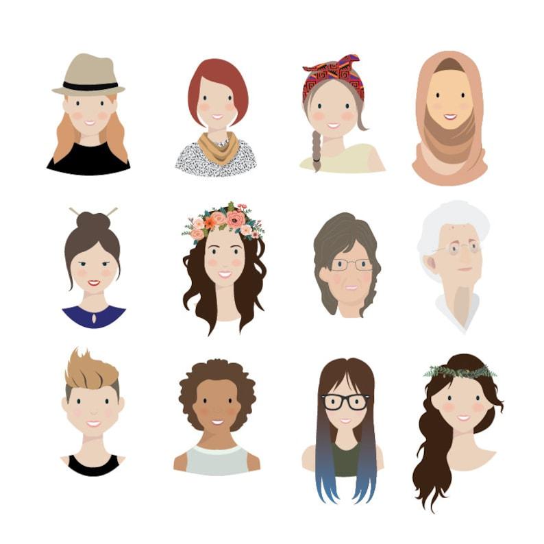 Custom Illustration Personal Portrait Avatar for User image 0