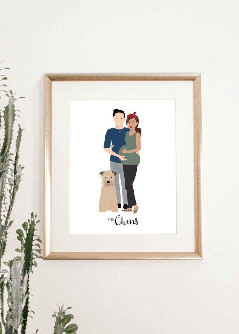 Pregnancy Gift New Mom to Be Expecting Mom Personalized image 0