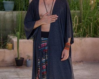 Mens Kimono, Kimono Robe, Mens Festival Clothing, Mens Handmade Clothing