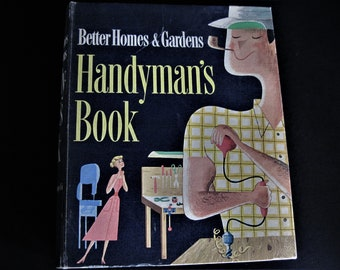 Home repair book etsy handymans book manly man book do it yourself book instructional book workshop book home repair book 1957 handyman book how to book solutioingenieria Images