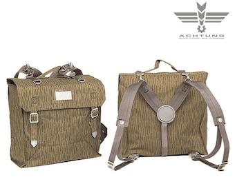 East German Combat Backpack W. Suspenders Waterproff