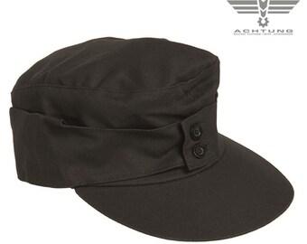 Black M43 Moleskin Mountain Cap