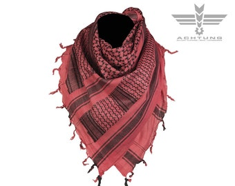 Black/Red Shemags Scarf
