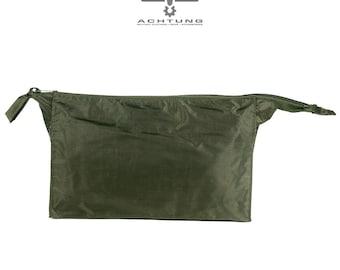 Military OD/Green vintage toilet bag