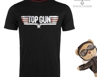 Original black Top Gun T-shirt
