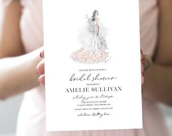 Sexy Bride - Bridal Shower Invitation