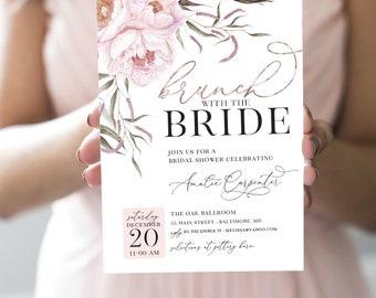 Brunch Bridal Shower Invitation - Brunch with the Bride
