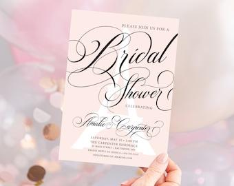 In Paris - French Bridal Shower Invitation