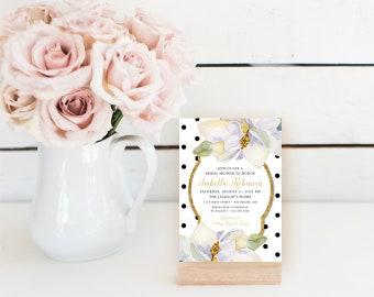 Magnolia Bridal Shower Invitation