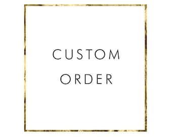 ADD ON Custom Return address label