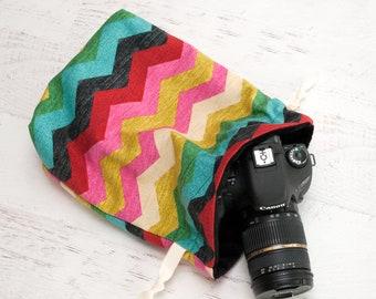DSLR Camera Bag - Gift for Photographer Birthday - Camera Straps - Canon Sack Camera Bag- Camera Bag for Women - Camera Bag Purse - Kate
