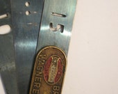 Vintage Wagner Lockheed Hydraulic Brake Repair Tool - Copper Logo Plate - St Louis Division - Feeler Gage Feel Gauge
