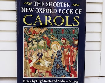 Oxford Book of Carols, Christmas Carols From Around the World, The Shorter New Oxford Book of Carols, Carol Music, printed Christmas music