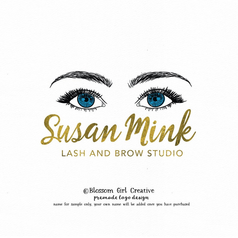 eyelash logo make up logo lash extensions logo make-up logo eyelashes logo  brow logo eyebrows logo makeup logo lashes logo logo design