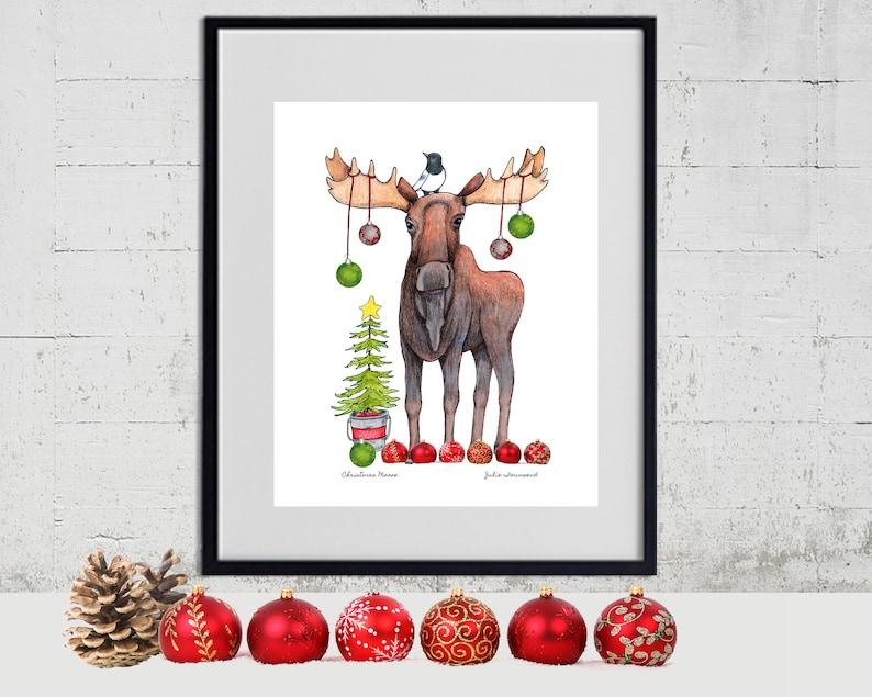 Christmas Moose Christmas Tree Christmas ornaments image 0