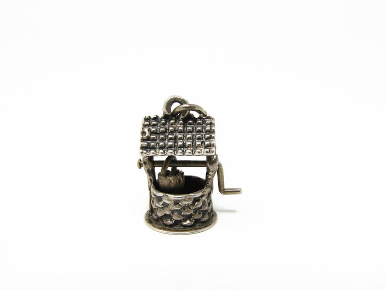 Beau Sterling Wishing Well Sterling Silver Charm image 0
