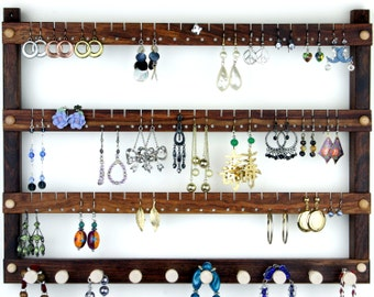 Toms Handmade Earring Holders and Jewelry by TomsEarringHolders