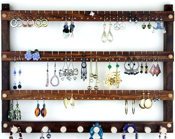 Boucles d/'oreille Display Boucle d/'oreille support pour 72 Boucles d/'oreilles 36 paire pratiquement