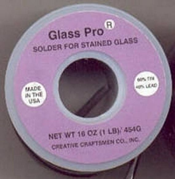 LBS 60//40 SOLDER Stained Glass Supplies 10