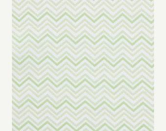 Decorative Chevron - Green - Small Chevron - 10 inches
