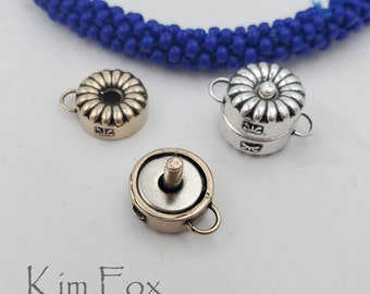 KF452 Daisy Petite but Powerful Magnetic Clasp