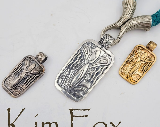 KFP421 Small and KFP457 Large Desert Angel Pendant designed by Kim Fox