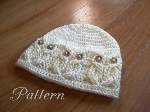 Crochet PATTERN-It\'s a Hoot Owl Hat. Adult baby and