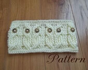 Crochet Pattern-Its a Hoot,  An Owl Headband and Earwarmer