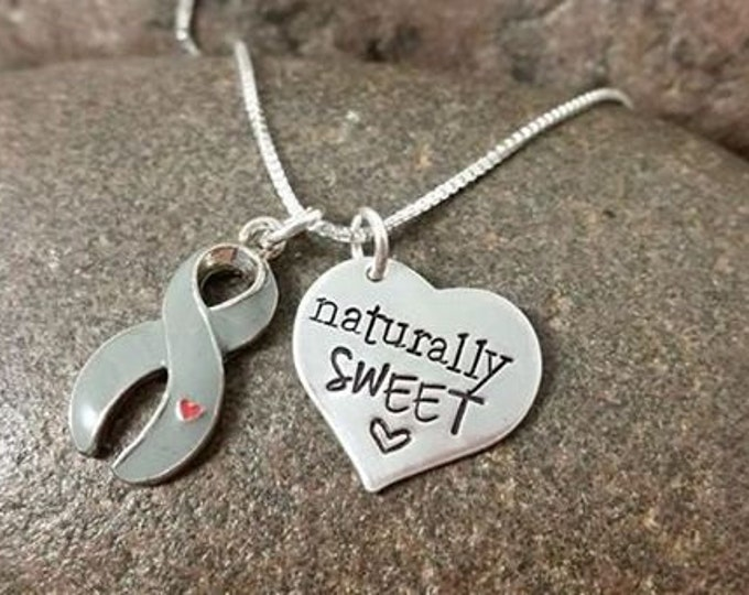 Naturally Sweet Diabetic Necklace for Diabetes Awareness