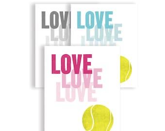 Tennis Art, Sport Art, Art Print, Wimbledon Art, Tennis Gift