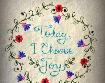 Choose Joy - Flannel...